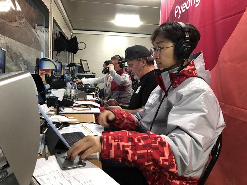 바루서프 김진수 대표, 페럴림픽 현장 중계 아나운서